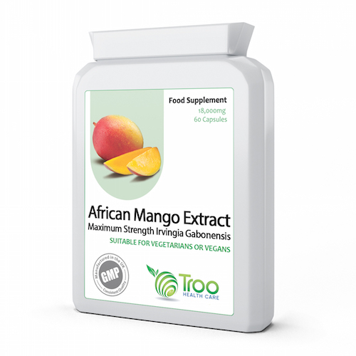 African Mango Extract 18000mg 60 Capsules - SyntHealthcare.com