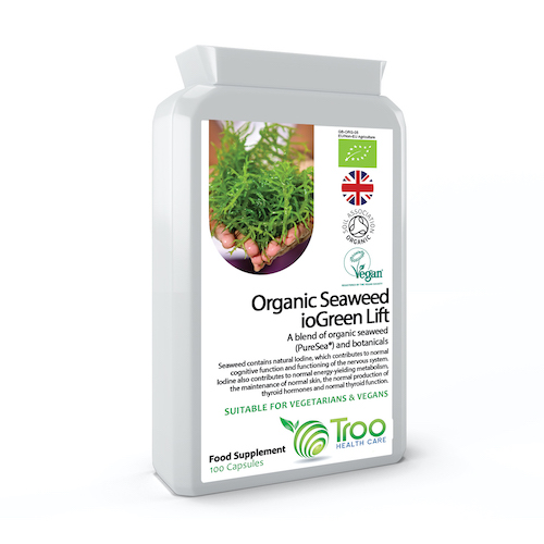 Al-Cleanse Organic Seagreens® Seaweed Complex 100 Capsules - SyntHealthcare.com