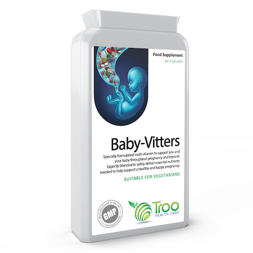 Baby-Vitters Pregnancy Support Multivitamin 90 Capsules - SyntHealthcare.com