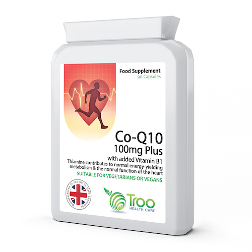 Co Enzyme Q10 CoQ10 100mg 90 Capsules - SyntHealthcare.com