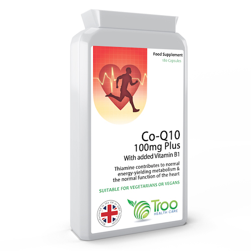 CoQ10 PLUS 100mg 180 Capsules - SyntHealthcare.com