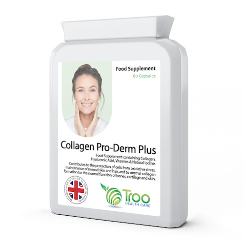 Collagen Pro-Derm Plus 60 Capsules - SyntHealthcare.com