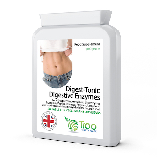 Digest-Tonic with Digestive Enzymes 90 Capsules - SyntHealthcare.com