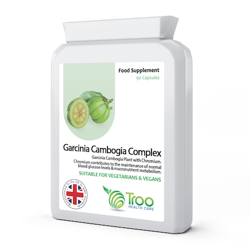 Garcinia Cambogia 500mg 90 Capsules - SyntHealthcare.com