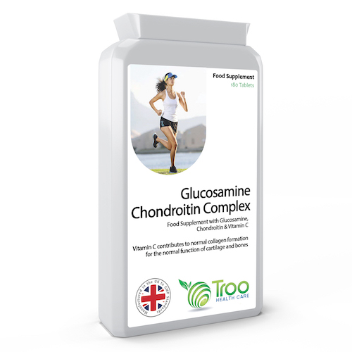 Glucosamine Chondroitin Complex 180 Tablets - SyntHealthcare.com