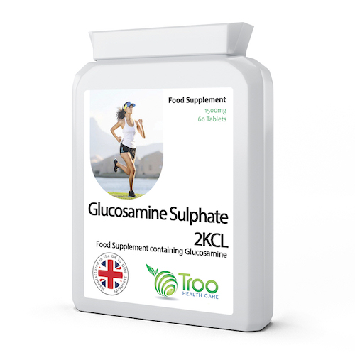 Glucosamine Sulphate 2KCL 1500mg 60 Tablets - SyntHealthcare.com