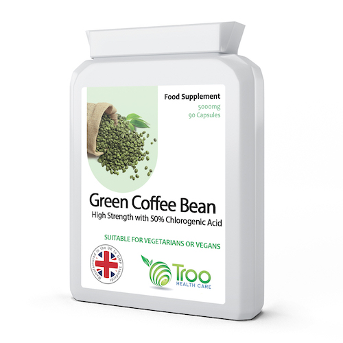 Green Coffee Bean Extract 5000mg 90 Capsules - SyntHealthcare.com