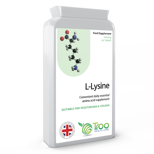 L-Lysine 1000mg 90 Tablets - SyntHealthcare.com