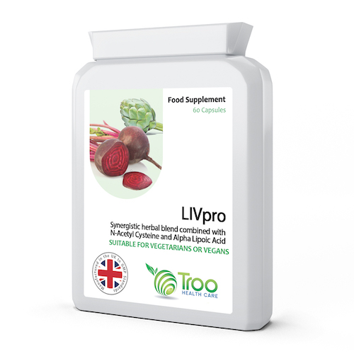 LIVpro Support 60 Capsules - SyntHealthcare.com