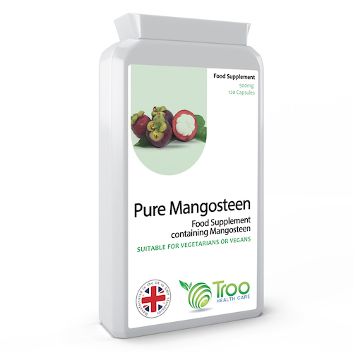 Mangosteen 500mg 120 Capsules - SyntHealthcare.com