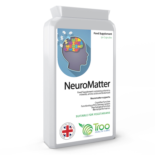 NeuroMatter Brain Support Complex 90 Capsules - SyntHealthcare.com