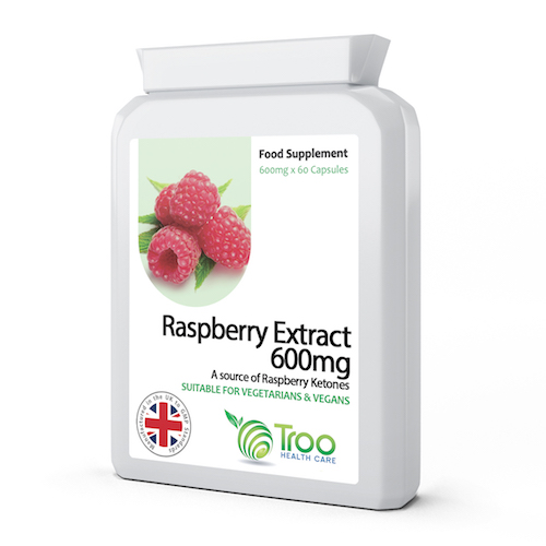 Raspberry Extract 600mg 60 Capsules - SyntHealthcare.com