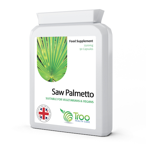 Saw Palmetto 2500mg from 125mg 20:1 Extract 90 Capsules - SyntHealthcare.com