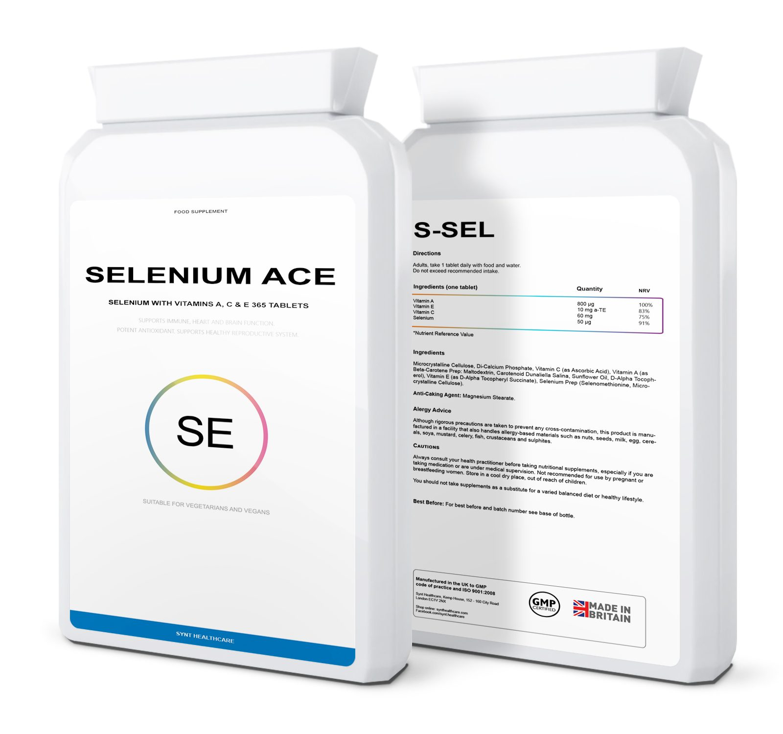 Selenium ACE (+A,C,E vitamins) 365 tablets