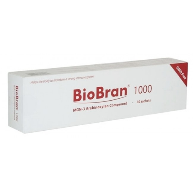 Biobran MGN -3 (1000 mg, 30 Sachets) – One of The Most Powerful Immune System Support